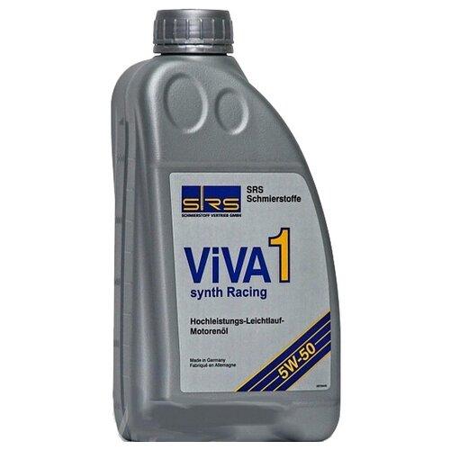 Синтетическое моторное масло SRS ViVA 1 Synth racing 5W50 1 л минеральное моторное масло srs multi rekord top 15w40 1 л