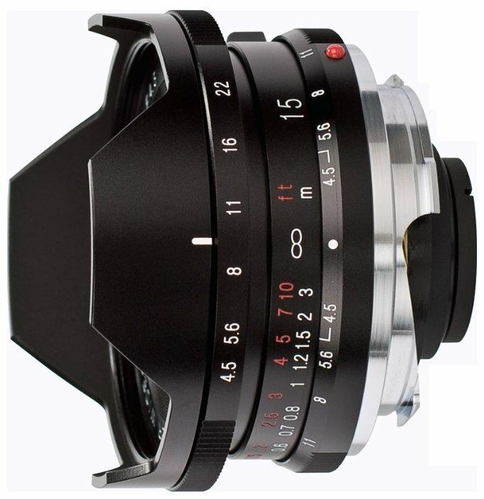 Объектив Voigtlaender 15mm f/4.5 Super Wide Heliar III Leica M