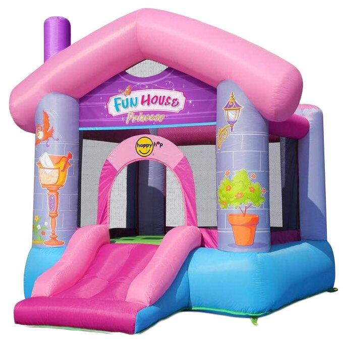 Надувной комплекс Happy Hop Веселый дом Принцессы 9215P