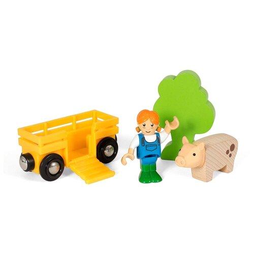Игровой набор Brio Девочка на ферме 33875 игровой набор brio девочка на