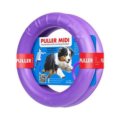 Кольцо для собак Puller Тренировочный снаряд Миди 2 шт (6488) фиолетовый