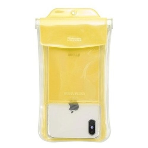 Купить Чехол Baseus Safe Airbag Waterproof Case желтый