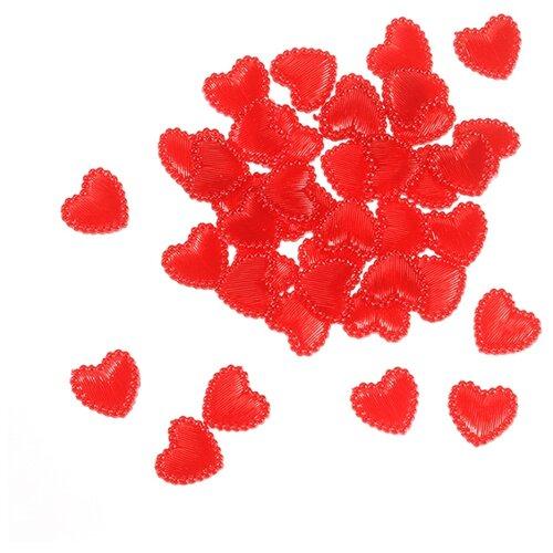 Купить Набор декоративных элементов Сердце 1, 3 см 40 шт пластик 2487728, Efco, Украшения и декоративные элементы