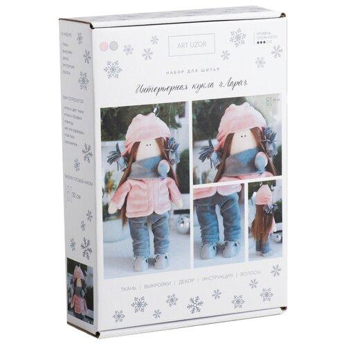 Купить Арт Узор Набор для шитья Интерьерная кукла Лара (4289383), Изготовление кукол и игрушек
