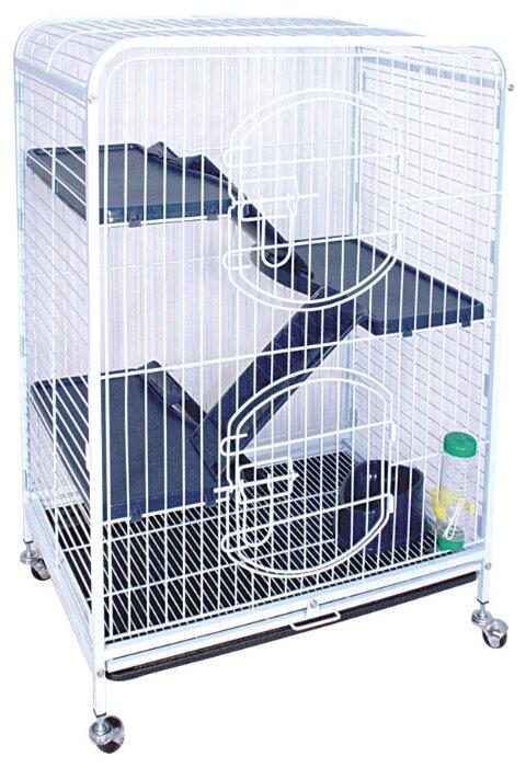Клетка для грызунов, хорьков, кроликов Triol C2-2 64х43.5х92.5 см