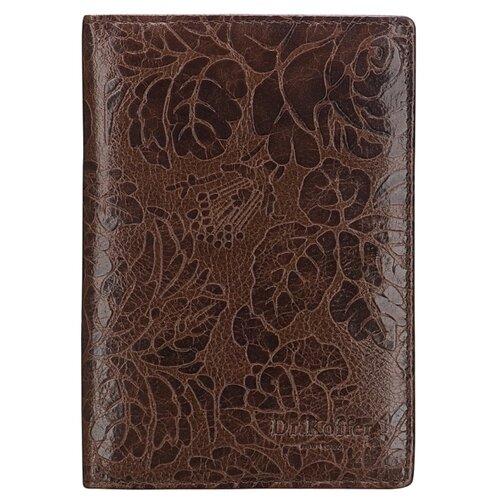 Обложка для паспорта Dr.Koffer X510130-212-09, коричневый