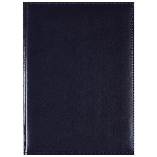 Купить Ежедневник Attache Каньон недатированный, искусственная кожа, А4, 176 листов, синий, Ежедневники, записные книжки