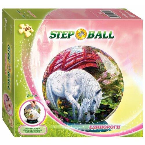 3D-пазл Step puzzle StepBall Единороги (98139), 240 дет.