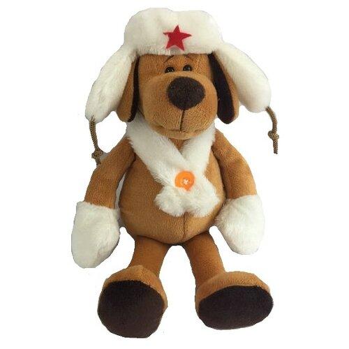 Фото - Мягкая игрушка ABtoys Собака в белой ушанке 16 см мягкая игрушка abtoys собака m2032 14 см