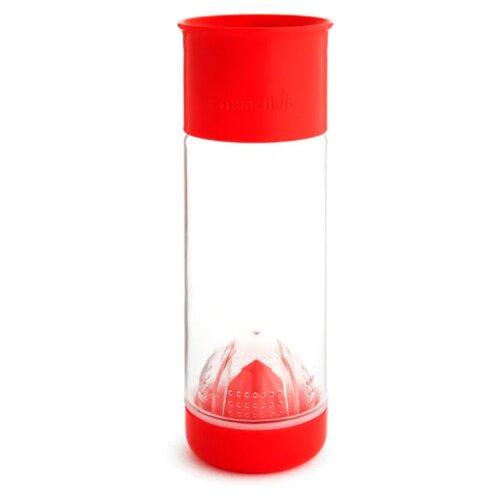 Бутылка для безалкогольных напитков, для воды Munchkin Miracle 360° Fruit Infuser Cup (591 мл) 0.59 пластик красный бутылка для воды и приготовления напитков patricia цвет красный 600 мл im99 5420