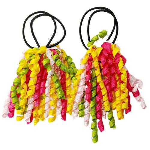 Купить Резинка BRADEX Спиральки 2 шт. красный/желтый/зеленый