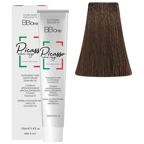 BB One Picasso Colour Range Перманентная крем-краска, 100 мл, 6 натуральный темный блонд pba bb pbabb page 6