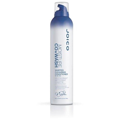 Joico крем-пена Moisture CO-Wash Whipped Cleansing Conditioner для очищения и увлажнения сухих волос, 245 мл joico шампунь для сухих волос moisture recovery 300мл