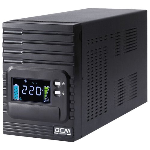 Интерактивный ИБП Powercom SMART KING PRO+ SPT-2000-II LCD