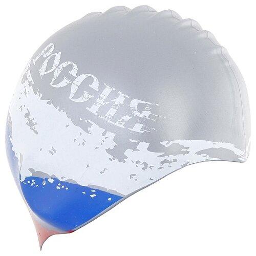 Шапочка для плавания Larsen LS74 серый шапочка larsen ls78 pink neon