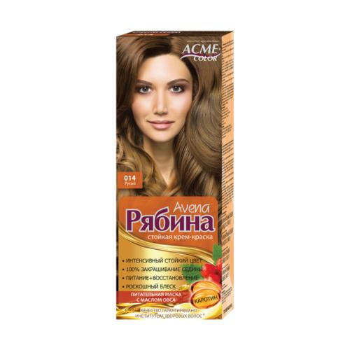Фото - Acme-Color Avena Рябина стойкая крем-краска для волос , 014 Русый acme color intence рябина краска для волос 111 мокрый песок