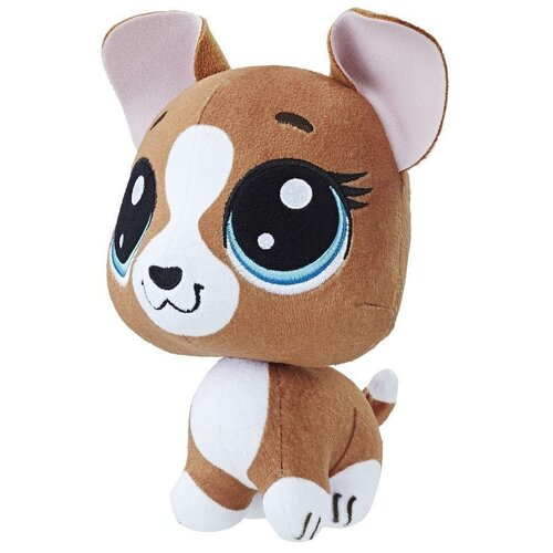 Мягкая игрушка Hasbro Littlest Pet Shop Roxie McTerrier 15 см