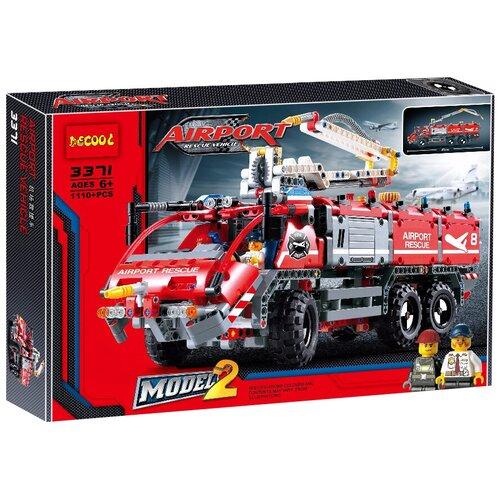 Купить Конструктор Jisi bricks (Decool) Technic 3371 Автомобиль спасательной службы, Конструкторы