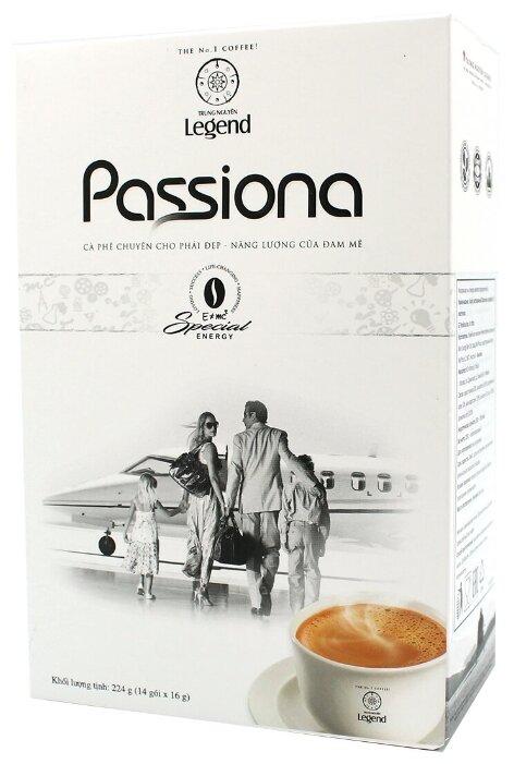 Купить TRUNG NGUYEN Кофе растворимый Passiona с коллагеном, 14шт*16гр по низкой цене с доставкой из Яндекс.Маркета (бывший Беру)
