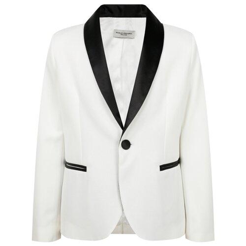 Пиджак Paolo Pecora размер 152, белый