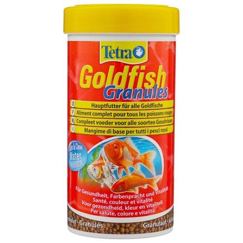 Сухой корм для рыб Tetra Goldfish Granules 250 мл сухой корм для рыб tetra goldfish 10000 мл