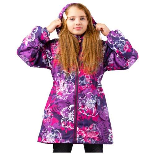 цена Куртка Canadian Line by S.L.O. Patricia 20-753 размер 98, violet_flower онлайн в 2017 году