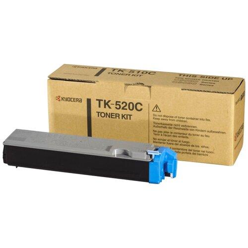 Фото - Картридж KYOCERA TK-520C тонер картридж kyocera tk 520c