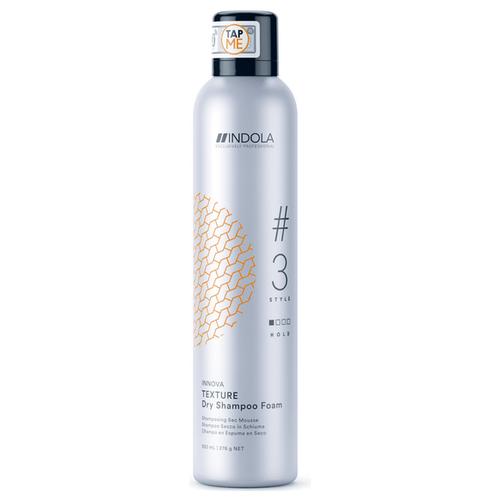 Фото - Indola сухой шампунь Innova Texture # 3 Dry Shampoo Foam, 300 мл шампунь для восстановления поврежденных волос indola innova repair shampoo 300 мл