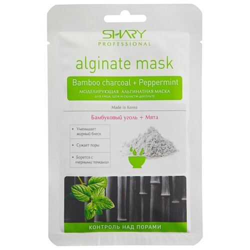 Shary альгинатная маска Контроль над порами, 28 г профессиональная альгинатная маска коллаген аденозин shary
