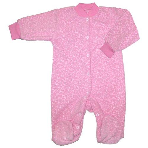 Комбинезон ДО (Детская одежда) размер 68, розовый