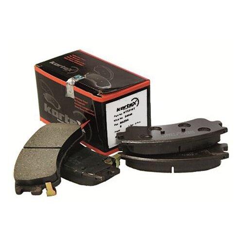 Фото - Дисковые тормозные колодки передние KORTEX KT3310T для Mazda 6 (4 шт.) дисковые тормозные колодки передние ferodo fdb4446 для mazda 3 mazda cx 3 4 шт