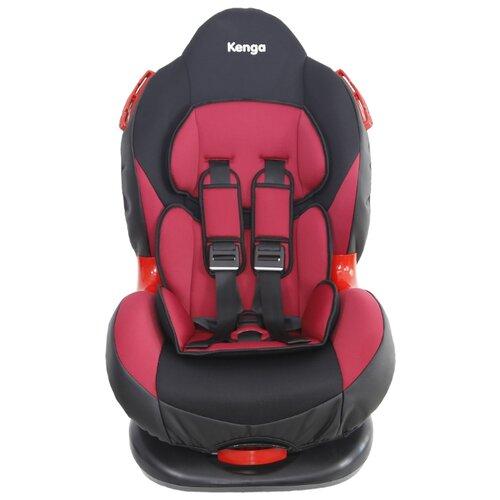 Автокресло группа 1/2 (9-25 кг) Kenga BS02 SA, черный/красный группа 1 2 от 9 до 25 кг kenga bs02 sa isofix
