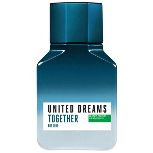 Туалетная вода UNITED COLORS OF BENETTON United Dreams Together for Him, 60 мл водолазка united colors of benetton 1030d2344 09h