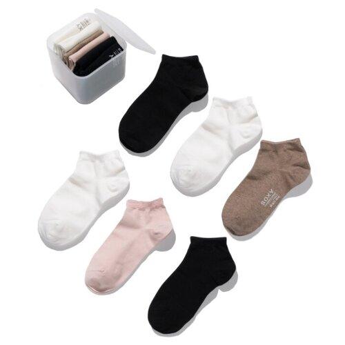 Короткие женские носки SOXY (6 пар в пластиковой коробке)