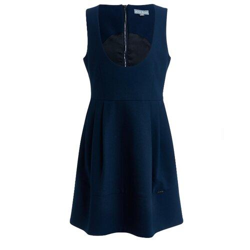Купить Сарафан Silver Spoon размер 146, синий, Платья и сарафаны