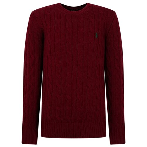 Купить Джемпер Ralph Lauren размер 92, бордовый, Джемперы и толстовки