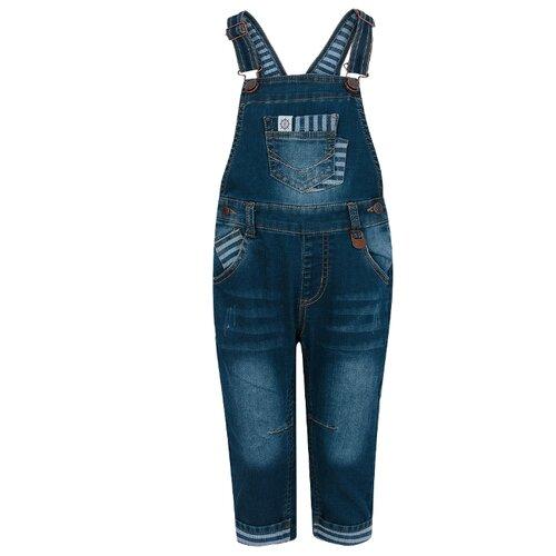Купить Полукомбинезон Fun time SS19G12 размер 86, синий, Брюки и шорты