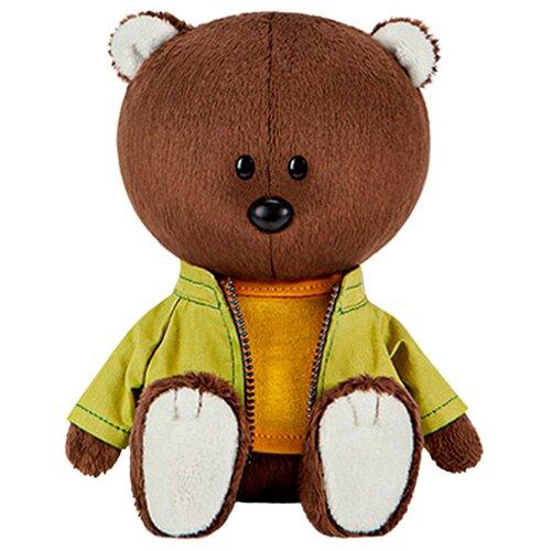 Фото - Мягкая игрушка Лесята Медведь Федот в оранжевой майке и курточке 15 см мягкая игрушка лесята ёжик игоша в свитере 15 см
