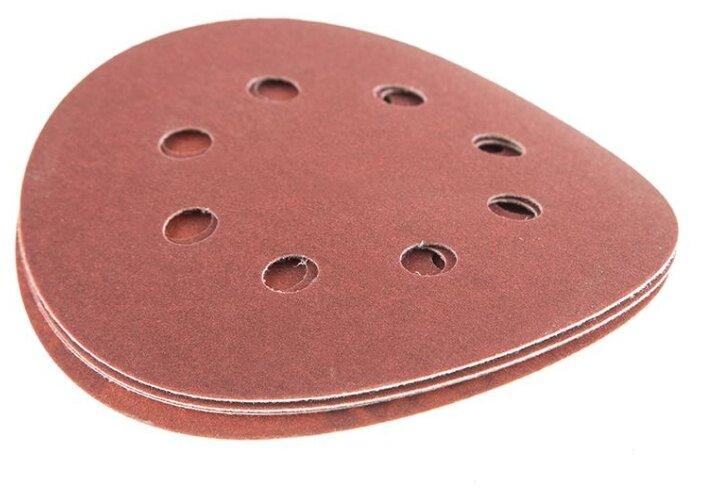 Шлифовальный круг на липучке Hammer 214-009 125 мм 5 шт