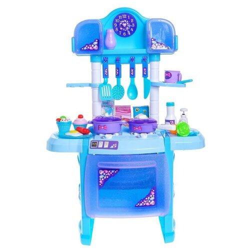 Купить Кухня Happy Valley 3551876 голубой, Детские кухни и бытовая техника
