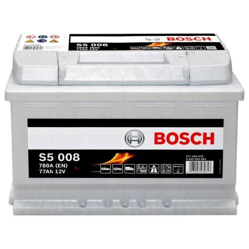 Автомобильный аккумулятор Bosch S5 008 (0 092 S50 080)