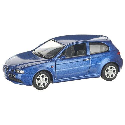 Купить Детская инерционная металлическая машинка с открывающимися дверями, модель Alfa Romeo 147 GTA, синий, Serinity Toys, Машинки и техника