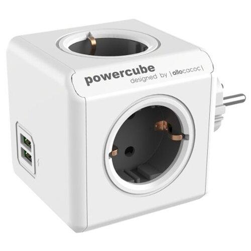 Фото - Разветвитель Allocacoc PowerCube Original USB 16 А серый разветвитель allocacoc powercube extended usb серый