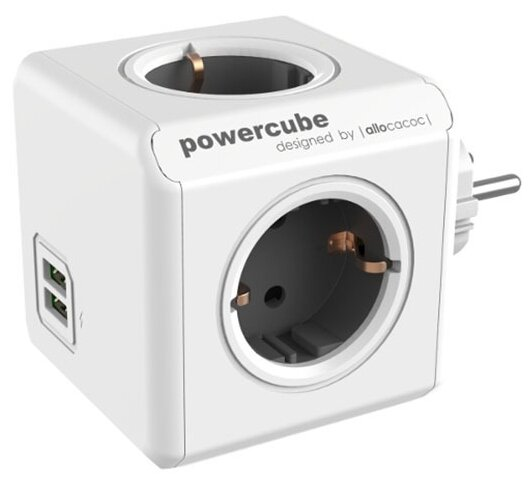 Разветвитель Allocacoc PowerCube Original USB 16 А
