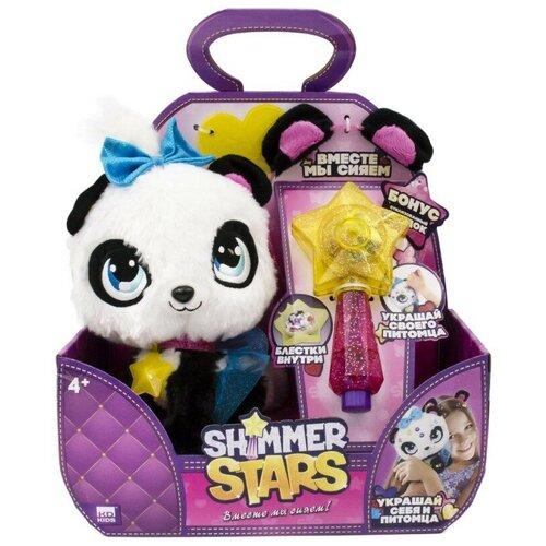 Мягкая игрушка Shimmer Stars плюшевая Панда 20 см