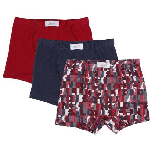 Купить Трусы BUONUMARE 3 шт., размер 140-152, ассорти-4, Белье и пляжная мода