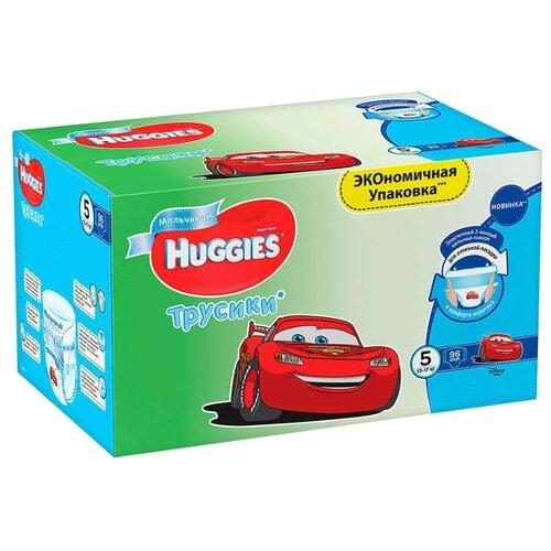 Huggies трусики для мальчиков 5 (13-17 кг) 96 шт.Подгузники<br>