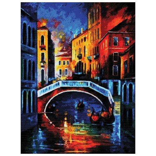 Купить Белоснежка Набор для вышивания Веницианские краски 55 х 70 см (4174-14), Наборы для вышивания
