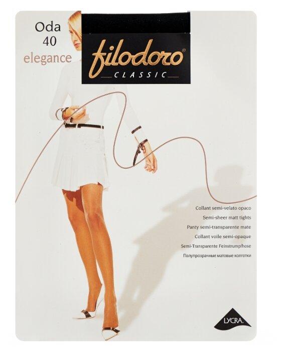 Купить Колготки Filodoro Classic Oda Elegance 40 den, размер 4-L, antracite (серый) по низкой цене с доставкой из Яндекс.Маркета (бывший Беру)