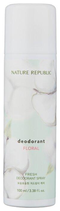 NATURE REPUBLIC дезодорант, спрей, Fresh Floral